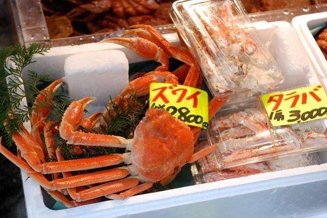 好大的蟹啊!感覺就像跟團才會吃到的東西