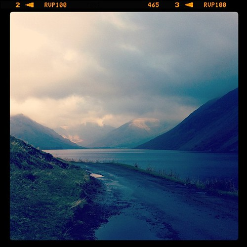 This was at Wast water this morning.