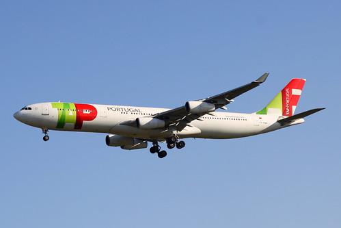 Airbus A340-300 da TAP @ SBGR