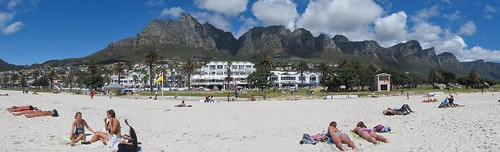 Camps Bay and Table Mountain (Panoramic)