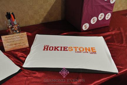 Virginia Tech Hokie Spirit Towel Guestbook