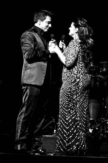 John Barrowman and Jodie Prenger
