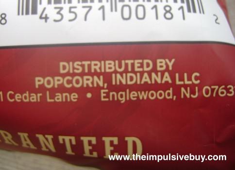 Popcorn, Indiana Classic Popcorn New Jersey