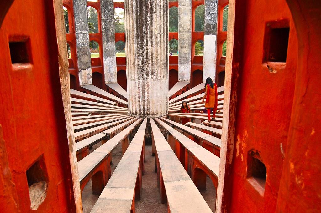 Jantar Mantar - Ram Yantra, cadran solaire.