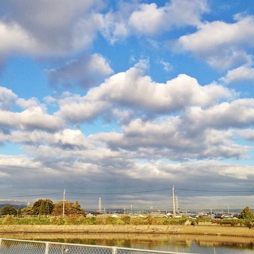雲がモコモコ! #iphonography #instagram #iphone4s