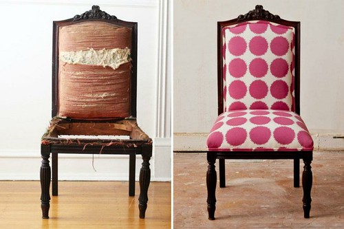 co-lab reupholstered chair