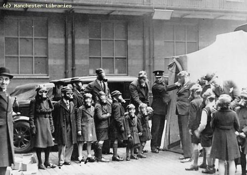 Children at Police Gas School, 1938
