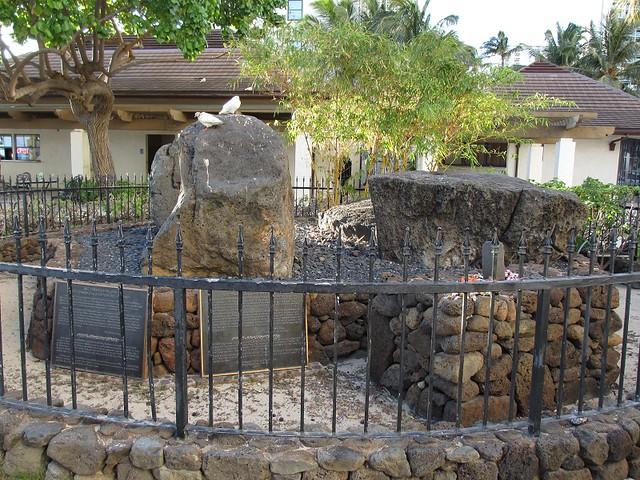 Wizard Stones at Waikiki