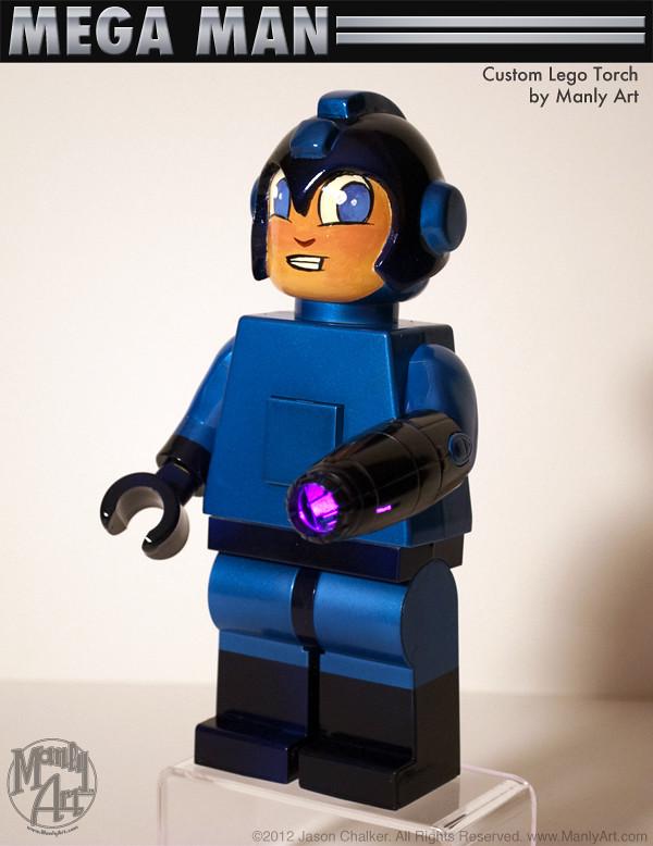 MegaMan Lego Torch