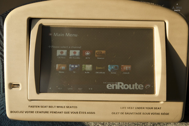 Touch Screen Entertainment System