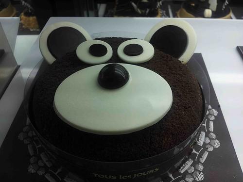 bear cake @ Tous Les Jours