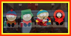 South Park Art at MacWorld 2012