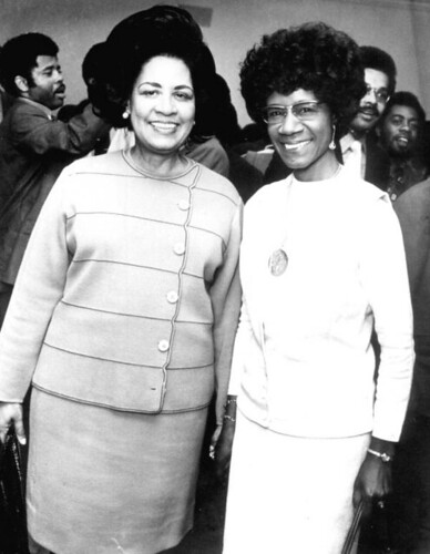 Gwendolyn Sawyer Cherry and Shirley Chisholm a...