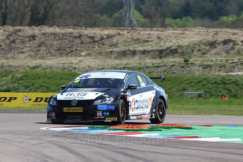Árón Smith during the BTCC Weekend at Thruxton, May 2016