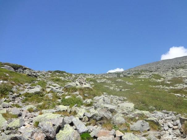 Mt. Washington Tuckerman Ravine Trail cairns