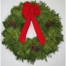 Cedar Christmas Wreath