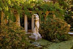 Bruma o Despertar en el jardín de Viveros de V...