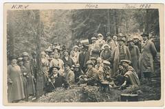Ned Reis Vereniging groep  Harz juni 1920