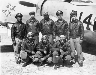 Tuskegee Airmen and P-47
