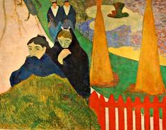 Paul Gauguin's The Arlesiennes (Mistral), 1888