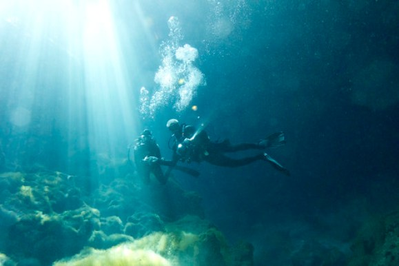 Ally and Rich - Ponderosa Cenote