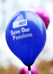 Pension Strike - London