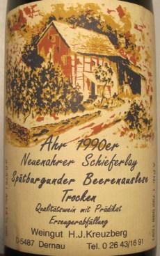 Weingut Kreuzberg, Dernau, Ahrtal