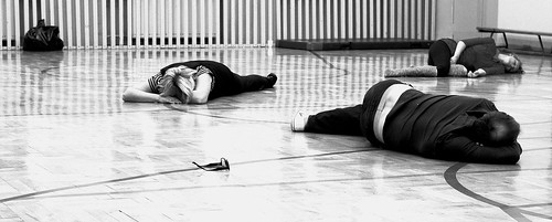 Kurs mistrzowski 3-4.12.2011- świadomość ciała...