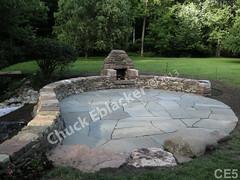 WM Chuck Eblacker 5, B2, flat work, free standing wall, patio, fire place, out door space