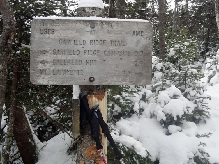 Garfield Ridge Trail Junction