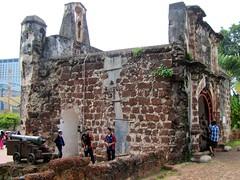 Porta de Santiago rear