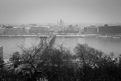 Budapest - Palais Royal - Vue sur St Stephen