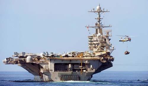 US Navy Aircraft Carrier USS John C Stennis