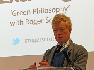 Roger Scruton speaking about his book 'Green P...