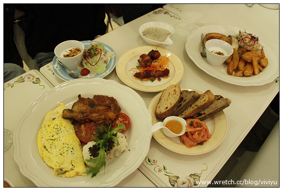 [台北.美食]安潔蘿家的派對~公主與王子雙人早午餐 @VIVIYU小世界