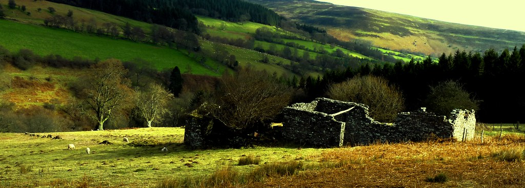 Old cottage black mountains Wales #dailyshoot