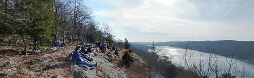 Bare Rock overlooking Greenwood Lake