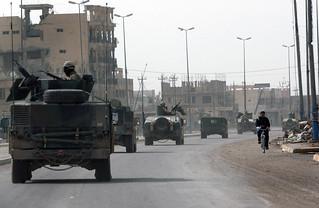 NMCB-23 patrols the streets of Fallujah