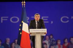 Meeting national de Nicolas Sarkozy à Villepin...