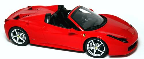 BBR Ferrari 458 Italia spider
