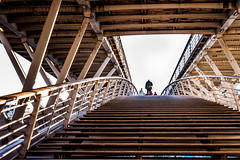 The stairs in Paris