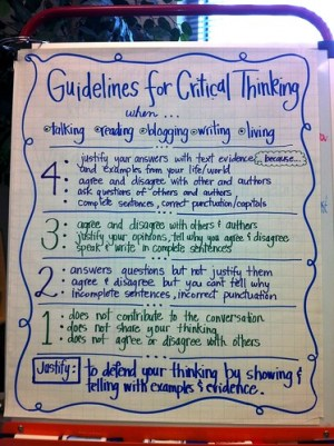 Guidelines for Critical Thinking