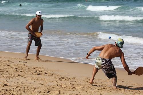 Fun tennis at the beach- Australian Open by neeravbhatt, on Flickr