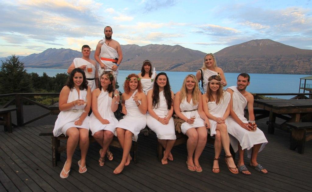 Toga Party, Lake Ohau
