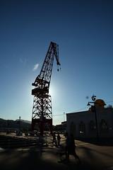 Bilbao Shipyard Crane