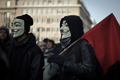 Anti ACTA Berlin - Guy Fawkes