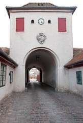 exiting Kastellet