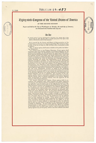 Act of July 4, 1966, Public Law 89-487, 80 STA...