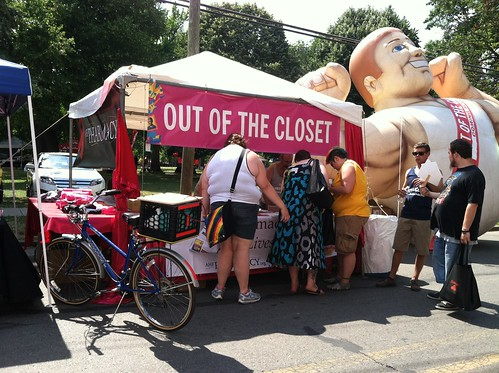 Out of the Closet at Columbus Pride 2012