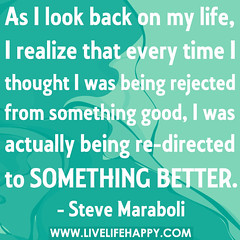 As I look back on my life, I realize that ever...